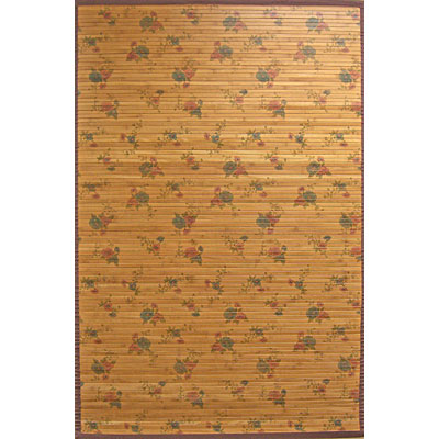 Anji Mountain Bamboo Rug, Co Chinese Roses 5 x 8 Chinese Roses AMB0081-0710