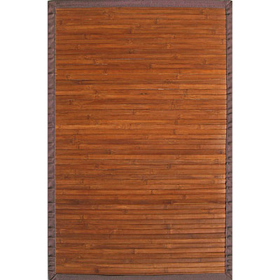 Anji Mountain Bamboo Rug, Co Contemporary 7 x 10 Chocolate AMB0031-0710