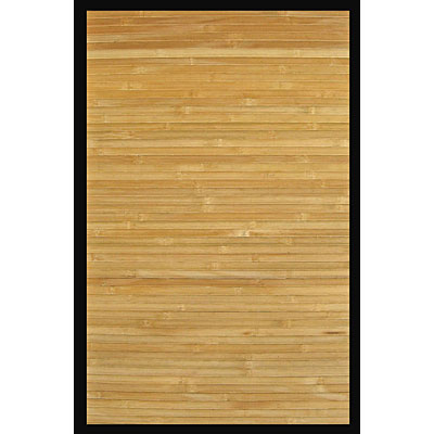 Anji Mountain Bamboo Rug, Co Contemporary 4 x 6 Natural AMB0036-0046