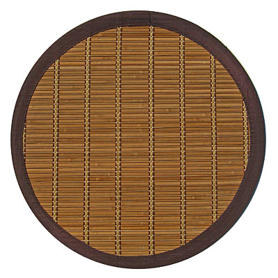 Anji Mountain Bamboo Rug, Co Pearl River 7 Round Pearl River AMB0020-070R