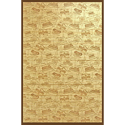 Anji Mountain Bamboo Rug, Co Vineyards 4 x 6 Vineyards AMB0084-0046