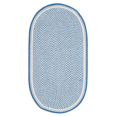 Capel Rugs Celebrate America 9x13 Oval Blue 723761767905