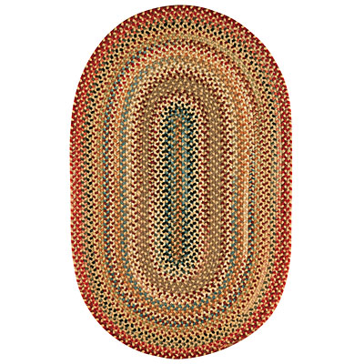 Capel Rugs Americana 3 x 5 oval Light Gold 0346_100