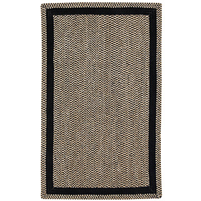 Capel Rugs Basketweave 2 x 6 runner Black 0460_350