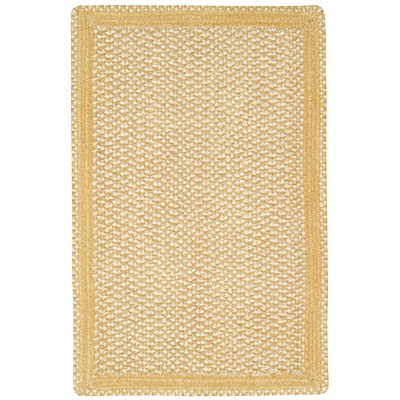 Capel Rugs Basketweave 4 x 6 Candellight 0460_100