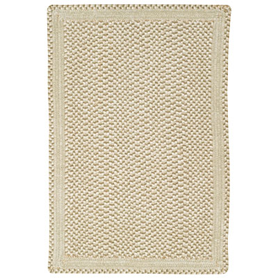 Capel Rugs Basketweave 2 x 9 runner Parchment 0460_600