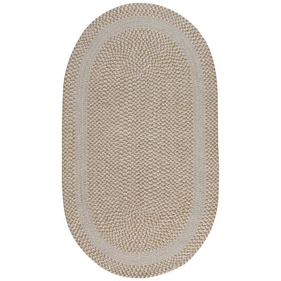 Capel Rugs Basketweave 8 x 11 oval Parchment 0460_600