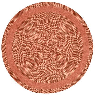 Capel Rugs Basketweave 5 ft round Cinnabar Honey 0460_800
