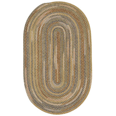Capel Rugs Beachcomber 8x11 oval Dune Ridge 0598_810