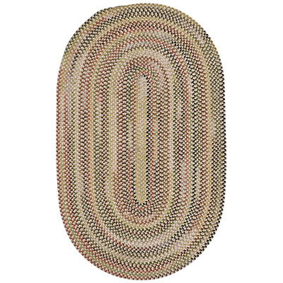 Capel Rugs Beachcomber 7x9 oval Shell Bed 0598_510
