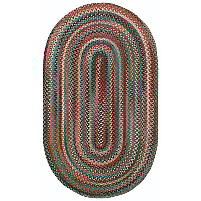 Capel Rugs Bear Creek 2x4 oval Teal 0980_280