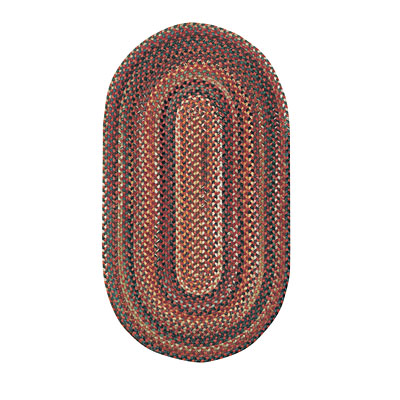 Capel Rugs Bear Creek 1x2 oval Terra Cotta 0980_800