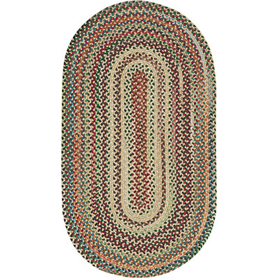 Capel Rugs Bear Creek 1x2 oval Wheat 0980_150