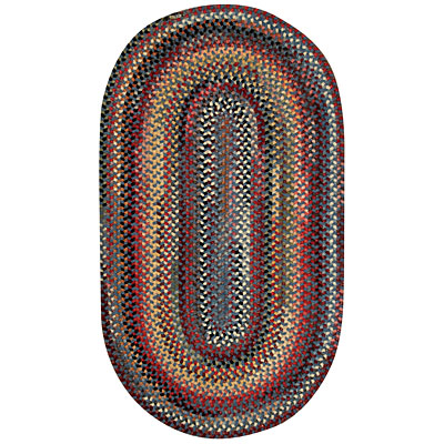 Capel Rugs Cambridge 1x2 oval Blue Bell 0442_400