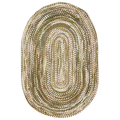 Capel Rugs Capel Knit 5 ft round Jade 0362_200