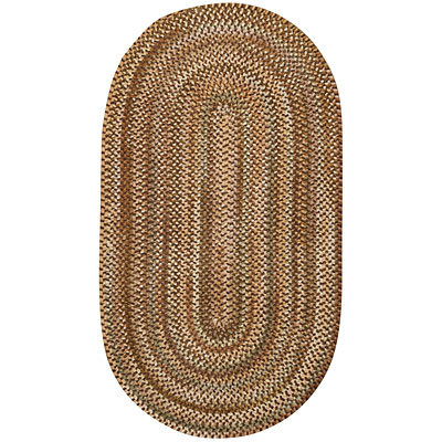 Capel Rugs Earthright 3 x 5 oval Cocoa 0427_700