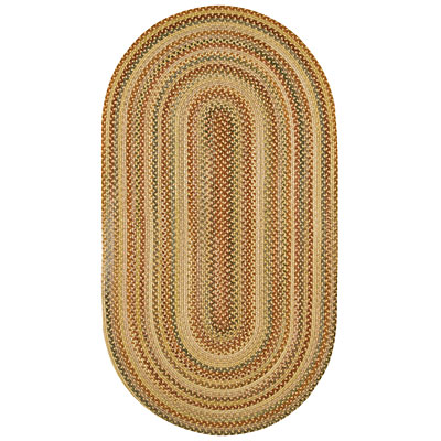Capel Rugs Generations 5 x 8 oval Golden Treasures 0364_125
