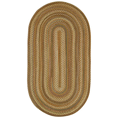 Capel Rugs Generations 2 x 3 oval Greensmoke 0364_225