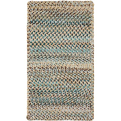 Capel Rugs Grand-Le-Fleur 11 x 14 oval Deep Waters 0425_475