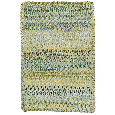 Capel Rugs Grand-Le-Fleur 3 x 5 oval Willow 0425_225