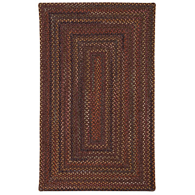 Capel Rugs Granville 8 x 11 oval Ebony Brown 0468_750