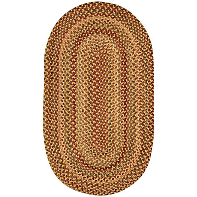 Capel Rugs Homecoming 7 x 9 Oval Wheafield 0048_100