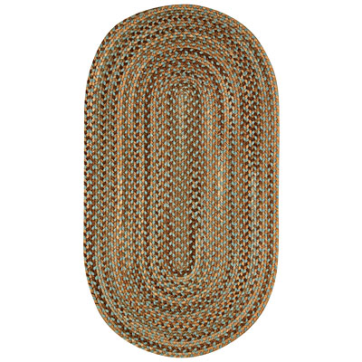 Capel Rugs Lexington 2 x 4 Oval Misty Blue 0047_400