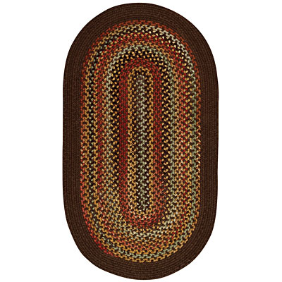 Capel Rugs Monticello 4 x 6 Oval Tobacco 0804_750