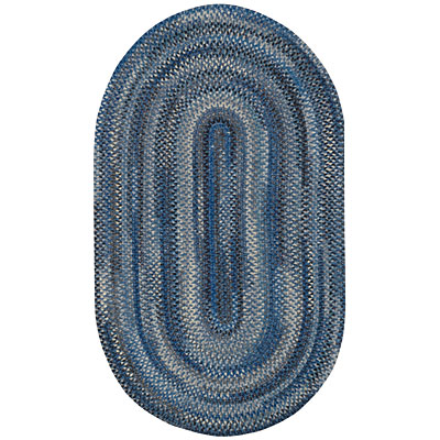 Capel Rugs Oxford 2x3 Oval Copen Blue 0444_450