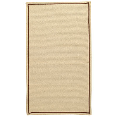 Capel Rugs Pinstripe 3 ft Square Linen 0426_650