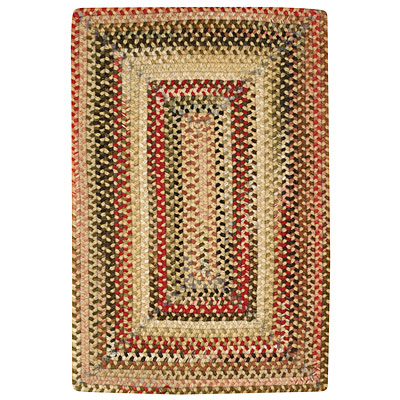 Capel Rugs Shadowbox Bryce 4 x 6 Antique Gold 0801_100