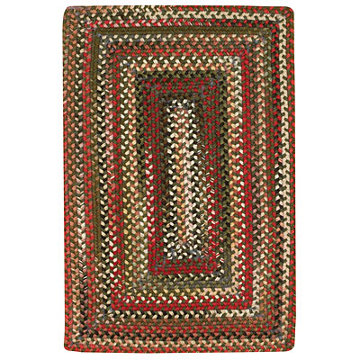 Capel Rugs Shadowbox Bryce 7 x 9 Olive 0801_275