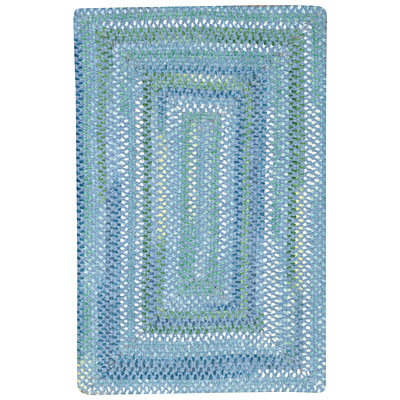 Capel Rugs Shadowbox Juliette 8 x 11 Deep Blue Sea 0800_401