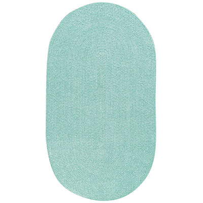 Capel Rugs Solo 7 x 9 Oval Surfspray 0806_425