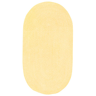 Capel Rugs Spring Bouquet 11 x 14 Oval Jonquil 0660_155
