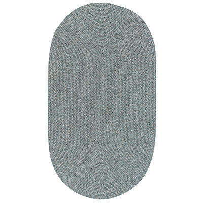 Capel Rugs Woodrun 5 x 8 Oval Sage 0850_200