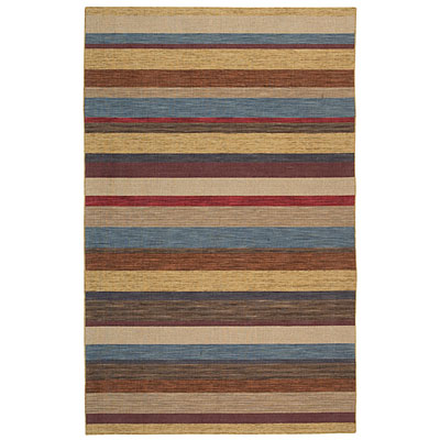 Capel Rugs Del Cabo 3 x 8 Canyon Stripes 3650_950