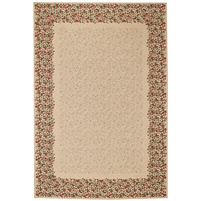 Capel Rugs Festival of Flowers 5 x 8 Ivory 6960_60b