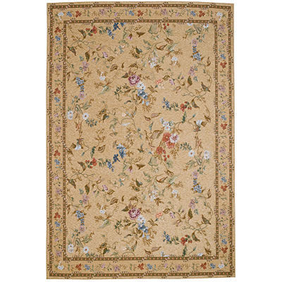 Capel Rugs Festival of Flowers 5 x 8 Toasted Almond 6960_700