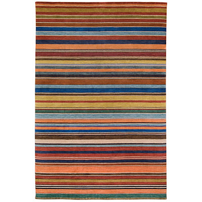 Capel Rugs Rainbows 5 x 8 Coral Multi 2174_800