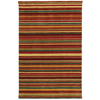 Capel Rugs Rainbows 5 x 8 Ruby Multi 2174_550