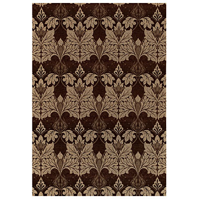 Capel Rugs Sweet William 8 x 11 Cocoa 6955_750