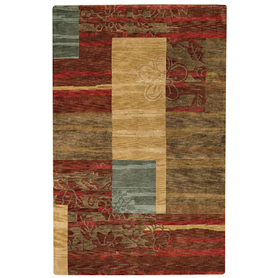 Capel Rugs Artscapes 8 x 11 Canyon Red 1619 325