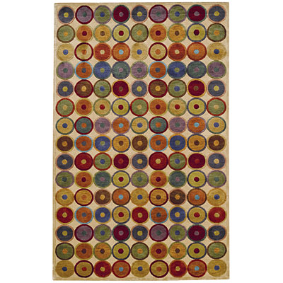 Capel Rugs Crystalle - Bubbles 8 x 11 Multi 1614_ 950