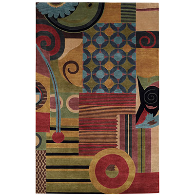 Capel Rugs Crystalle - Collage 5 x 8 Muiti 1617_ 950