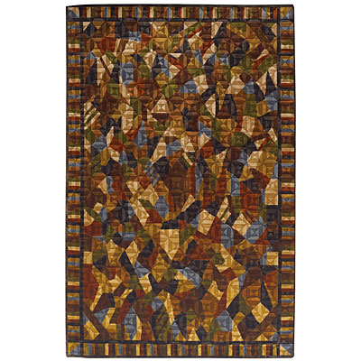 Capel Rugs Crystalle - Diamonds 5 x 8 Multi 1612_950