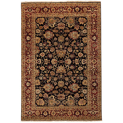 Capel Rugs Heirlooms - Mahal 6 x 9 NavyRed 1090_450