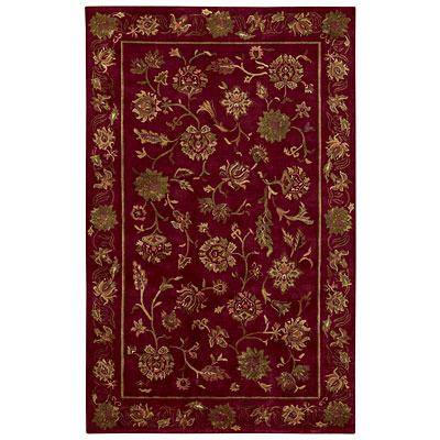 Capel Rugs Lotus 10 x 14 Crimson 1772_ 550