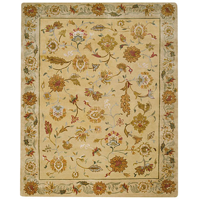 Capel Rugs Lotus 10 x 14 LightGold 1772_100