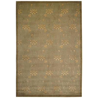 Capel Rugs Nepal Passage II 2x3 DarkGreen 9270_290